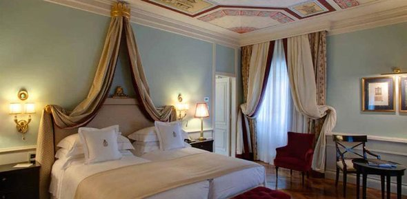 Grand Hotel Villa Cora in Florence room