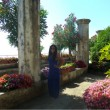 Touring the gardens at the Villa Rufolo