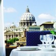 Atlante Hotels rooftop dining room
