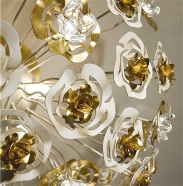 Masca Lights gold leaf