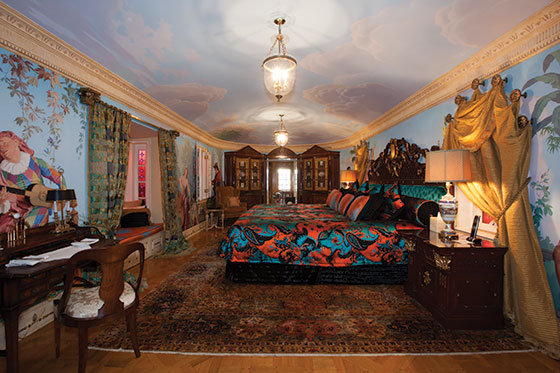 Gianni Versace Casa Casuarina bedroom