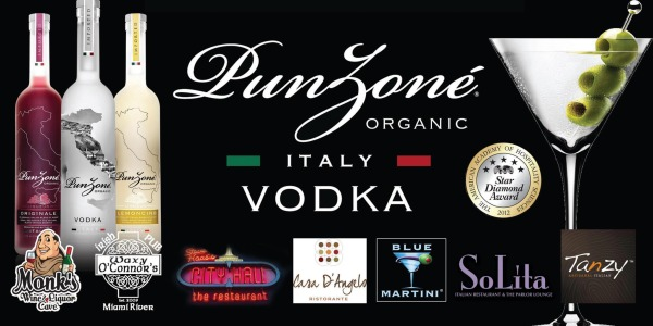 Punzone Vodka South Florida