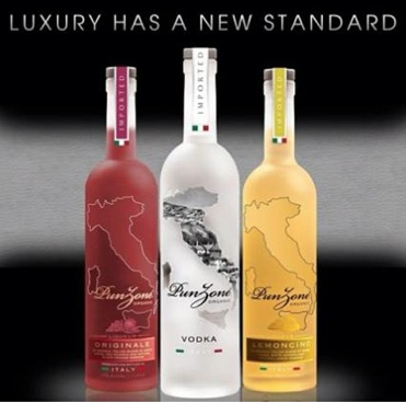Punzone luxury vodka
