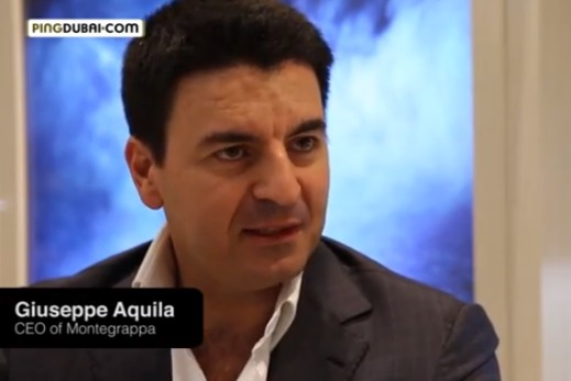 Interview with Montegrappa CEO Giuseppe Aquila Baselworld 2013