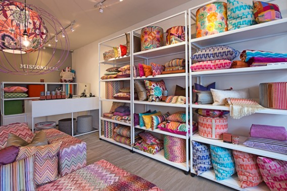 Missoni Home store in Southhampton US