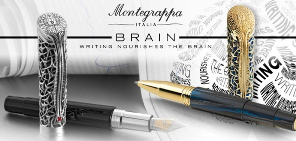 Montegrappa Brain Collection Keep Memory Alive