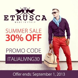 ETRUSCA - ItaliaLiving Promo July 2013