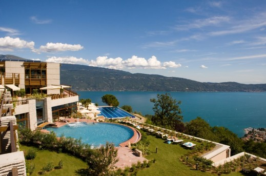 Lefay Resort Spa Outdoor Indoor Swimming Pool