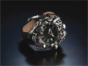 Montegrappa Chaos watch black