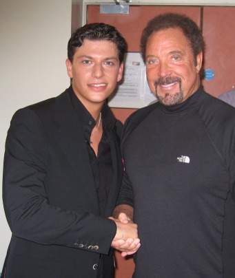 Patrizio Buanne with Tom Jones