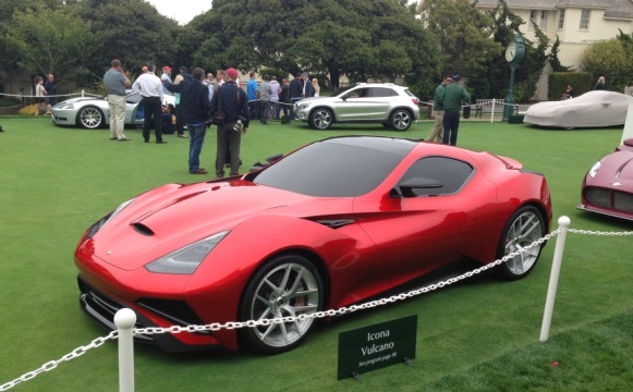 Icona Vulcano Pebble Beach 2013