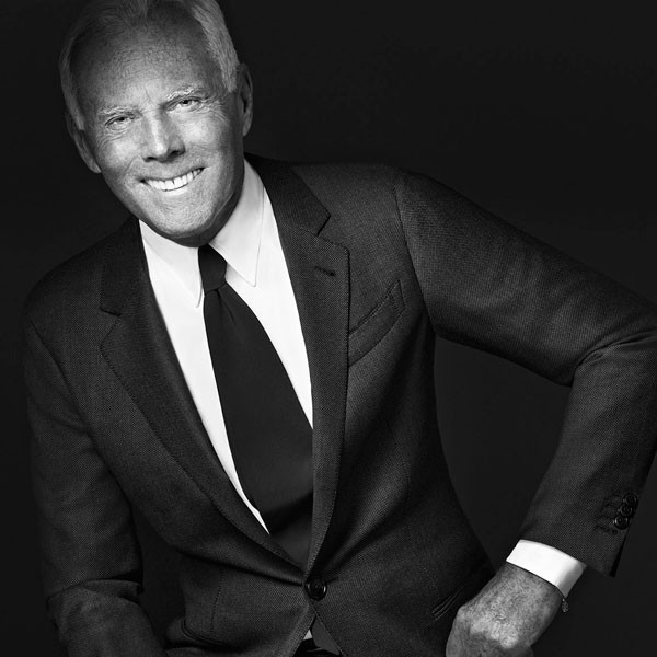 Giorgio Armani Made to Measure campaign