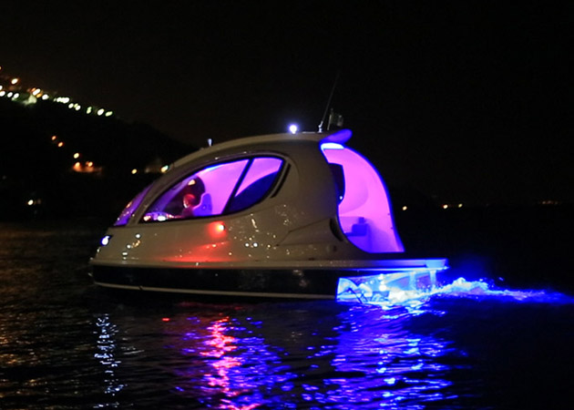 Lazzarini Jet Capsule neon light