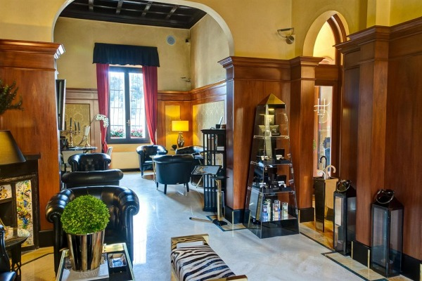 Best Western Hotel River - Florence lobby