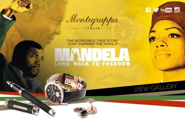 Montegrappa Nelson Mandela collection