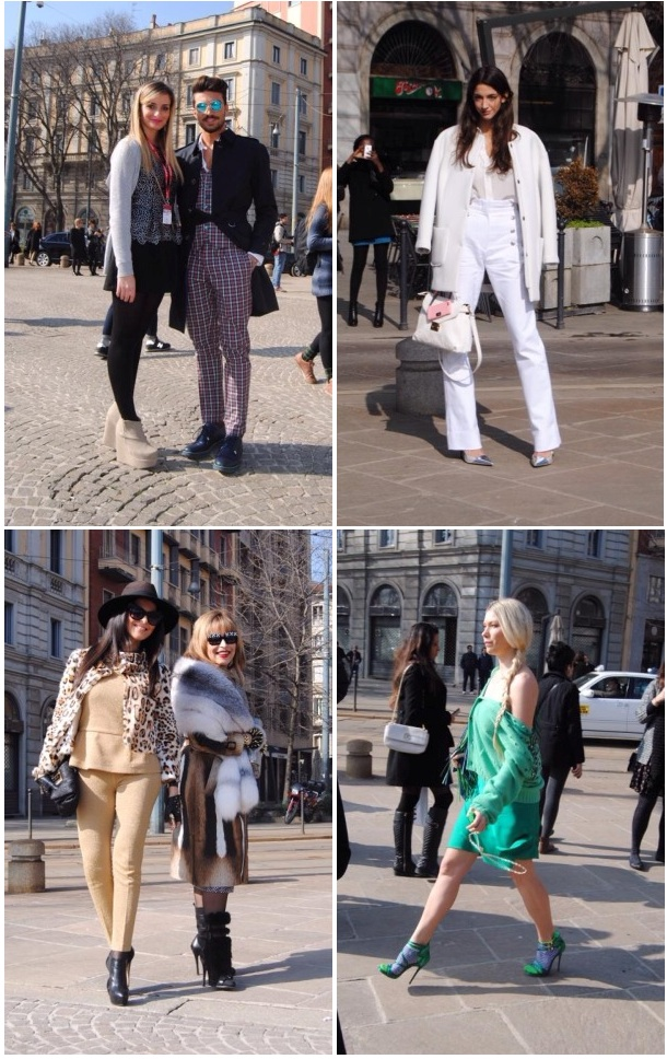 Milan Fashion Week bloggers group 2