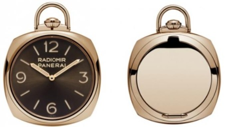 Pocket Watch 3 Days Oro Rosso PAM00447