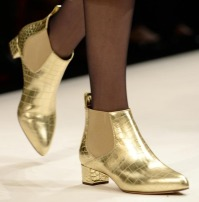 golden shoes MaxMara