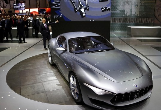 Maserati Shows New Models in Geneva Following Positive Financials