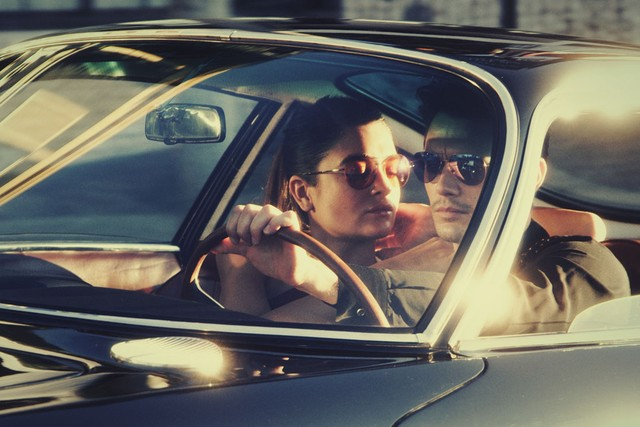 James Franco and Natalia Bonifacci for Gucci Sunglasses