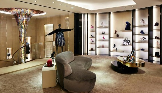 Fendi flagship London inside