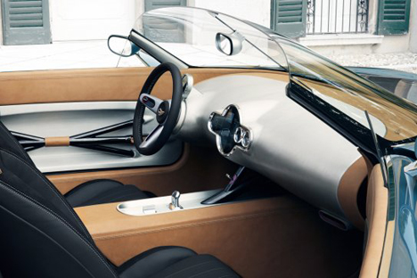 MINI Superleggera Vision rear interior