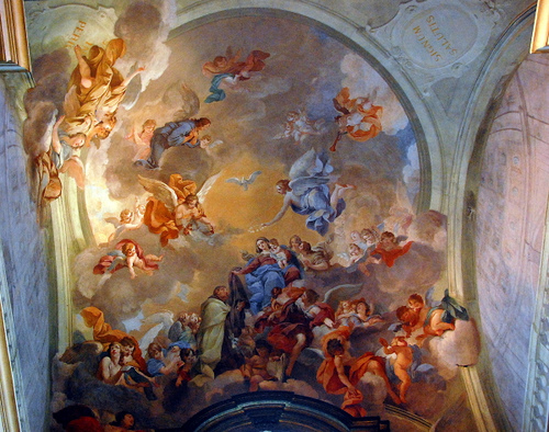 Ceiling of Brancacci Chapel