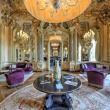 VR shot featuring the Mirrors Room of the Grand Hotel Villa Cora in Florence