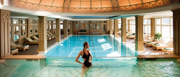 Cristallo Hotel Spa and Golf pool
