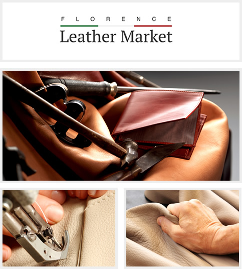 Florence Leather Market artisan