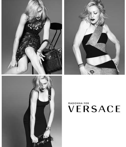 MADONNA FOR VERSACE 2015