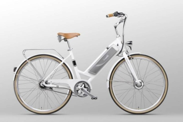 Benelli Bicycles white eBike