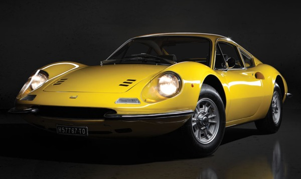 Ferrari Dino 246 GT L at Auction in Paris