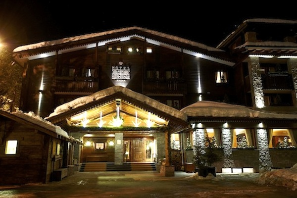 Hotel Hermitage,Valle d'Aosta, Italy