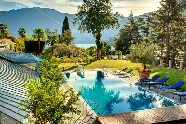 Villa Napoleon I Lake Como pool