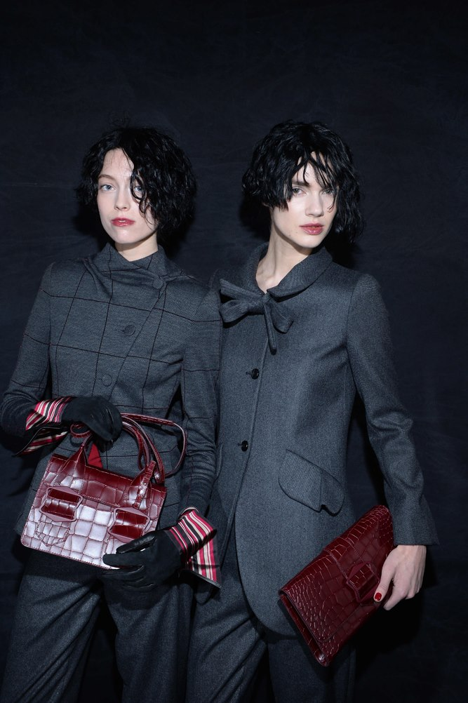 Emporio Armani women's Fall-Winter 2015-2016 collection milan fashion week