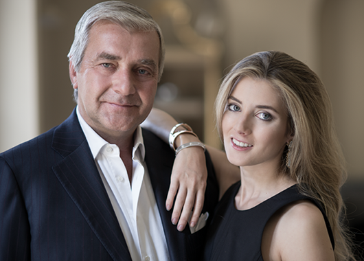 Father-and-daughter design team Andrea and Lucrezia Buccellati