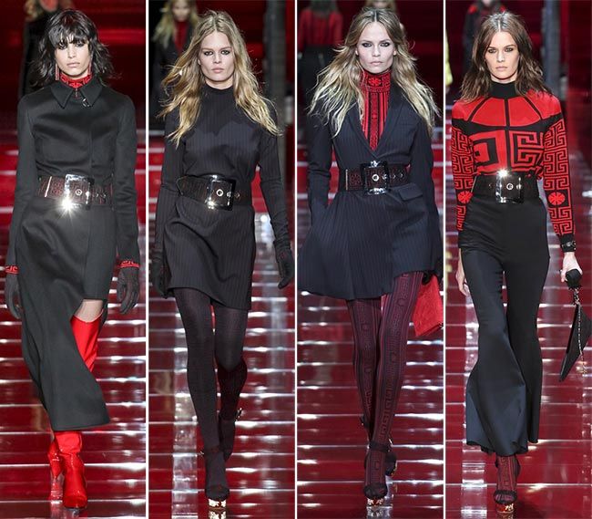 Versace fall winter 2015-2016 collection Milan Fashion Week