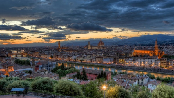 Touring Italy Florence