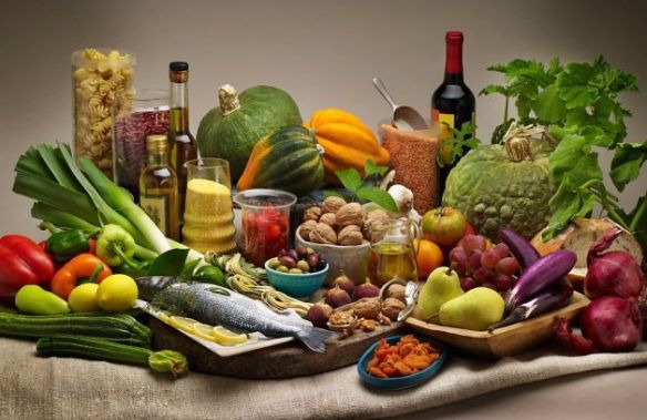 Mediterranean Diet table