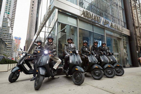Vespa 946 Armani New York
