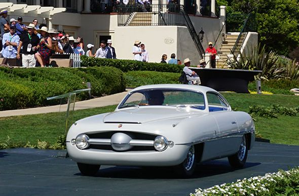 1953 Abarth 1100 Sport Ghia Coupé