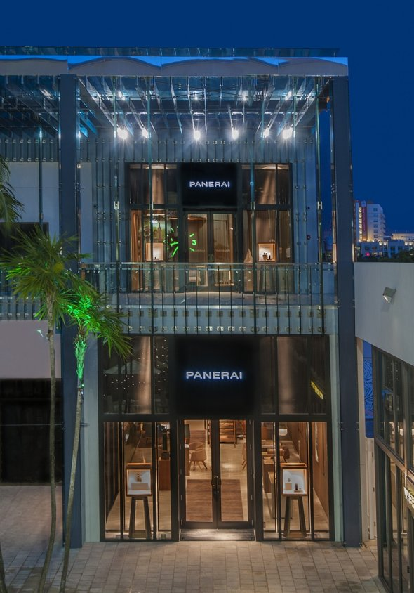 Panerai Miami Design District outside