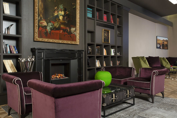 Hotel spadai a touch of modernity in the classic florence italia hotel spadai fireplace lounge teraionfo