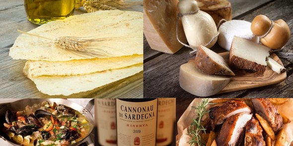 Sardinian food and wine