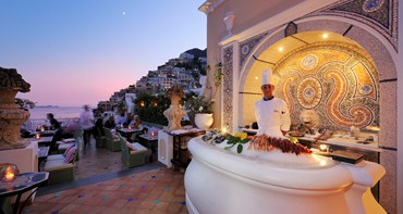 Champagne & Oyster Bar Positano