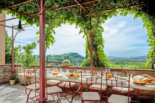 Villa Dania Tuscany dining-olivers-travels