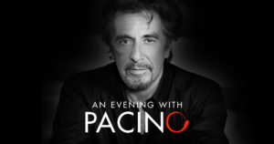 An Evening with Al Pacino at the Borgata in Atlantic City – June 4th