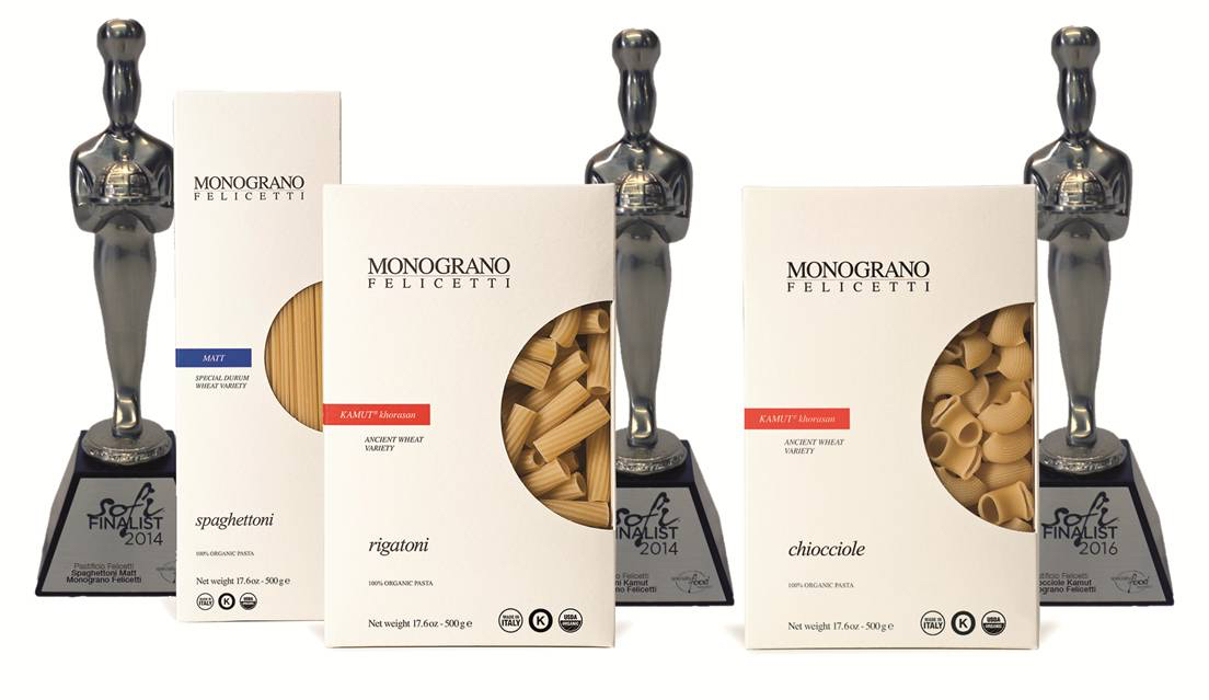Felicetti pasta recieves 3 sofi award nominations from Specialty Food Association