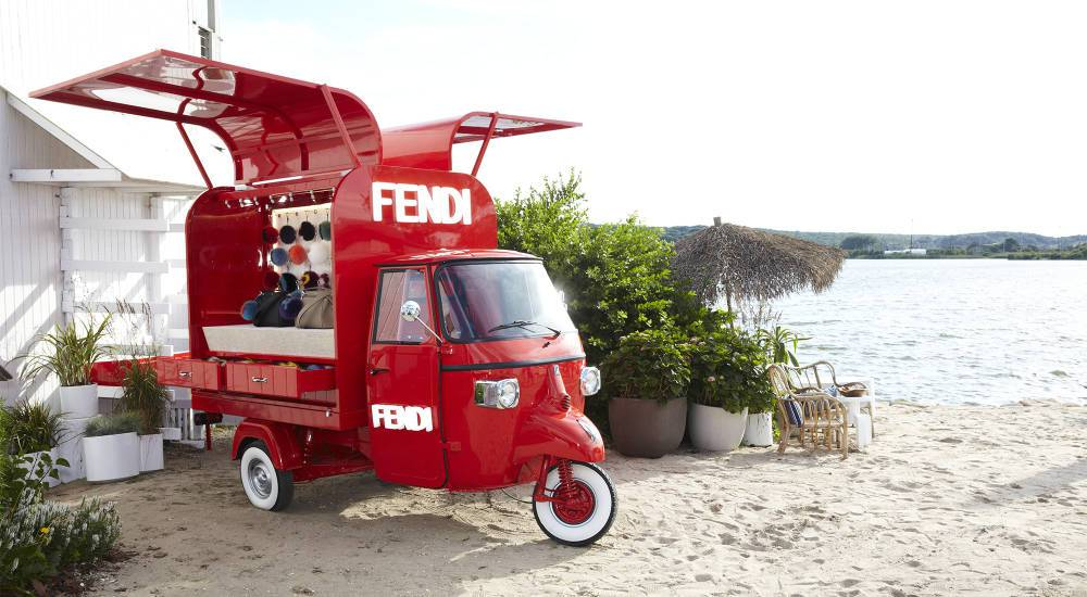 Fendi Pop-up truck